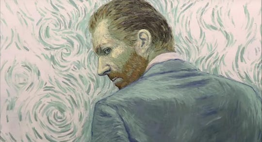 """Loving Vincent"" is an animated film painted in the style of Vincent Van Gogh."