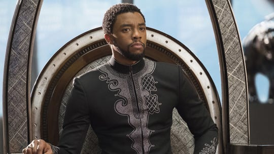 "Chadwick Boseman is Prince T'challa in ""Black Panther,"" the Marvel mega-hit that will be screen at the Palm Desert city pool on Friday."