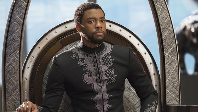 """Chadwick Boseman is Prince T'challa in """"Black Panther."""""""