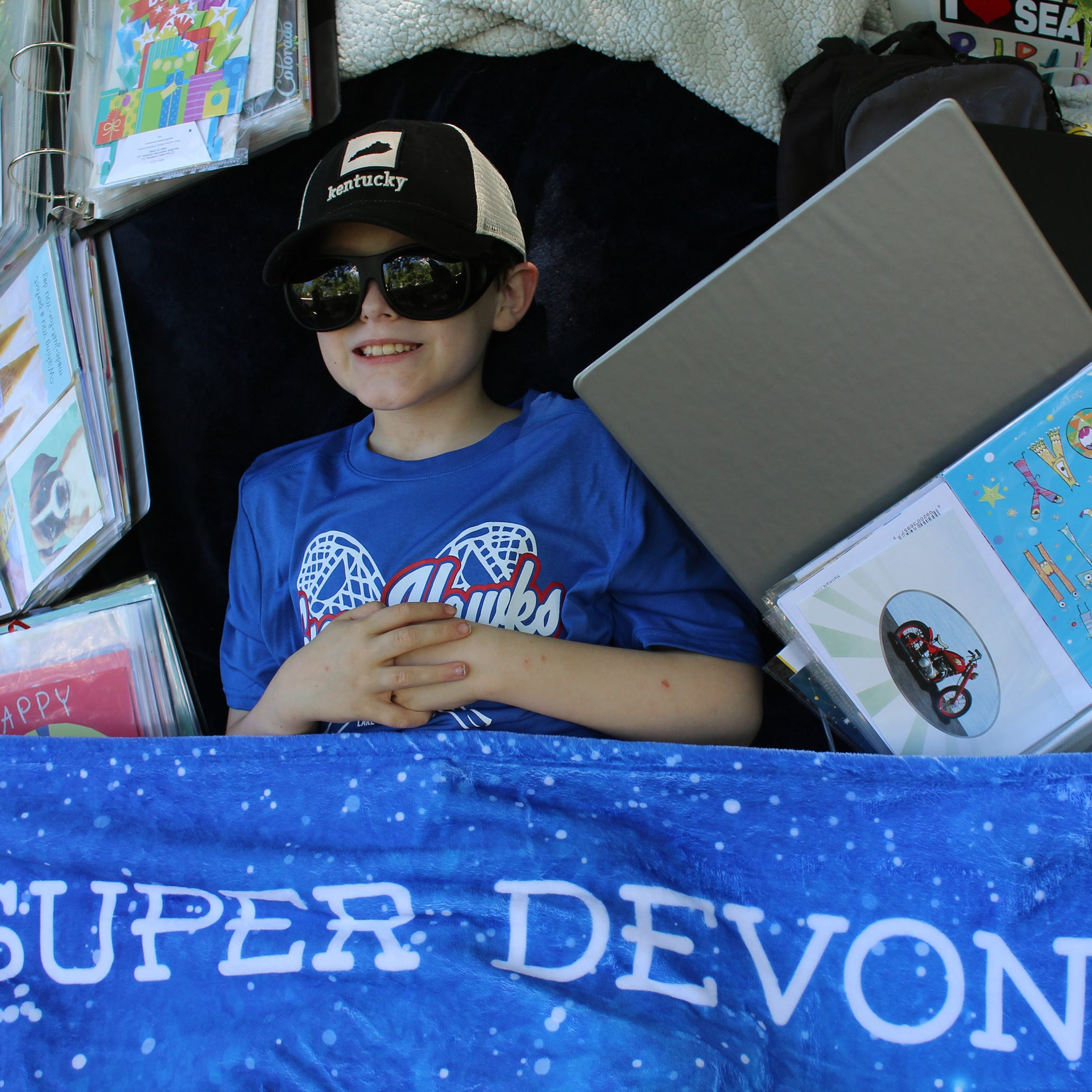 Devon Sweeney, the critically ill Tomahawk boy who for his 11th birthday received cards from all over the world, has died