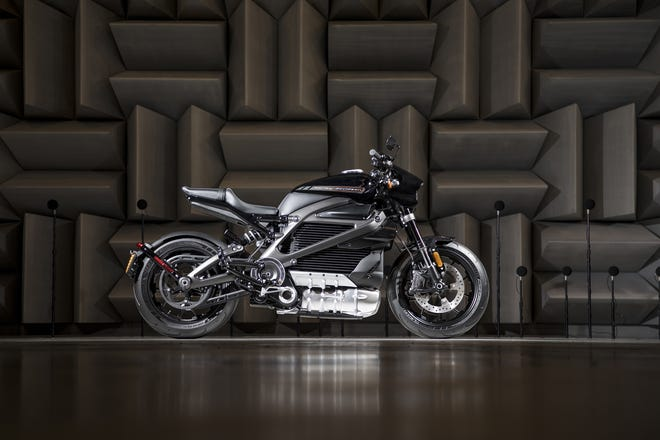 Harley-Davidson's first electric motorcycle, LiveWire™, planned for 2019
