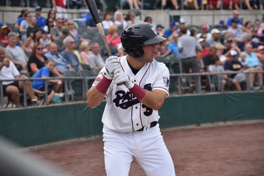 Zach Racusin made his pro debut last year with the Somerset Patriots.