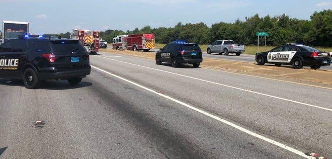 Scene of the accident.