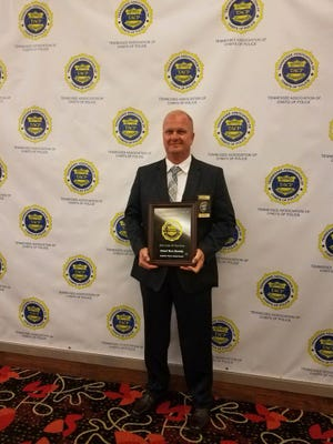 Gallatin Police Chief Don Bandy was named Chief of the Year by the Tennessee Association of Chiefs of Police.
