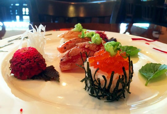 The new Tokyo Thai Sushi restaurant in Naples Towne Centre on U.S. 41 East in East Naples creates a variety of sushi, sashii as nigori, as well as other Japanese and Thai dishes.