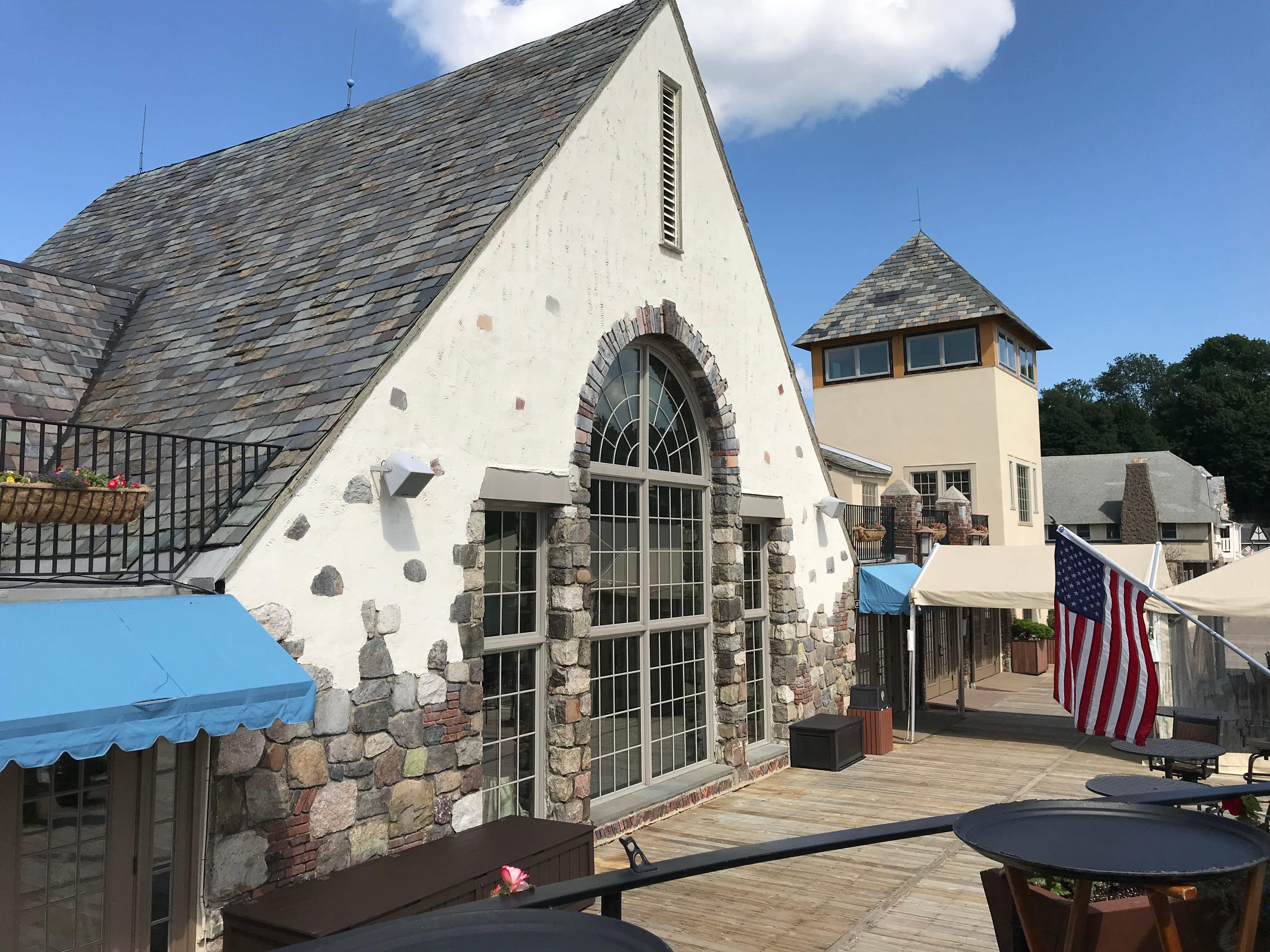 The clubhouse at Lake Mohawk in Sparta, as seen on July 26, 2018, is the centerpiece of a plaza that landed on the National Register of Historic Places and is known for its grand, castle-like appearance.