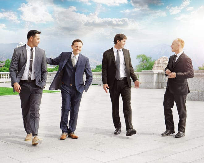 The Piano Guys will perform at the Mayo Performing Arts Center in Morristown on Aug. 9.