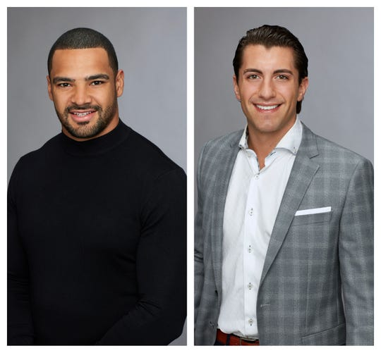 """Clay Harbor (left) and Jason Tartick (right) are two former contestants from """"The Bachelorette"""" season 14 that could be in the running to star as """"The Bachelor""""."""