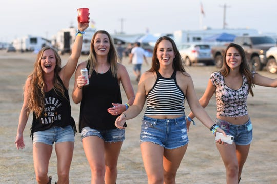 Scenes from the Night in the Country festival, which drew hordes of folks to Yerington on Saturday, July 28, 2018.