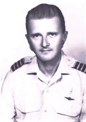 Neil Hansen in the 1970s. Hansen worked as a pilot and manager for Air America, the Central Intelligence Agency's secret air arm during the Vietnam war.