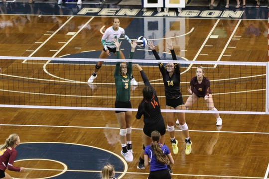 Matches during the Summer Slam 2018 at the Pentagon drew 40 of the best volleyball players in the state.