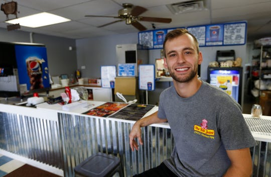 Chris Berry, pictured, and Jennie Turner, co-owners of The Rib Joint, rebranded the barbecue restaurant on East Chestnut Expressway that was known as the Rib Shack.