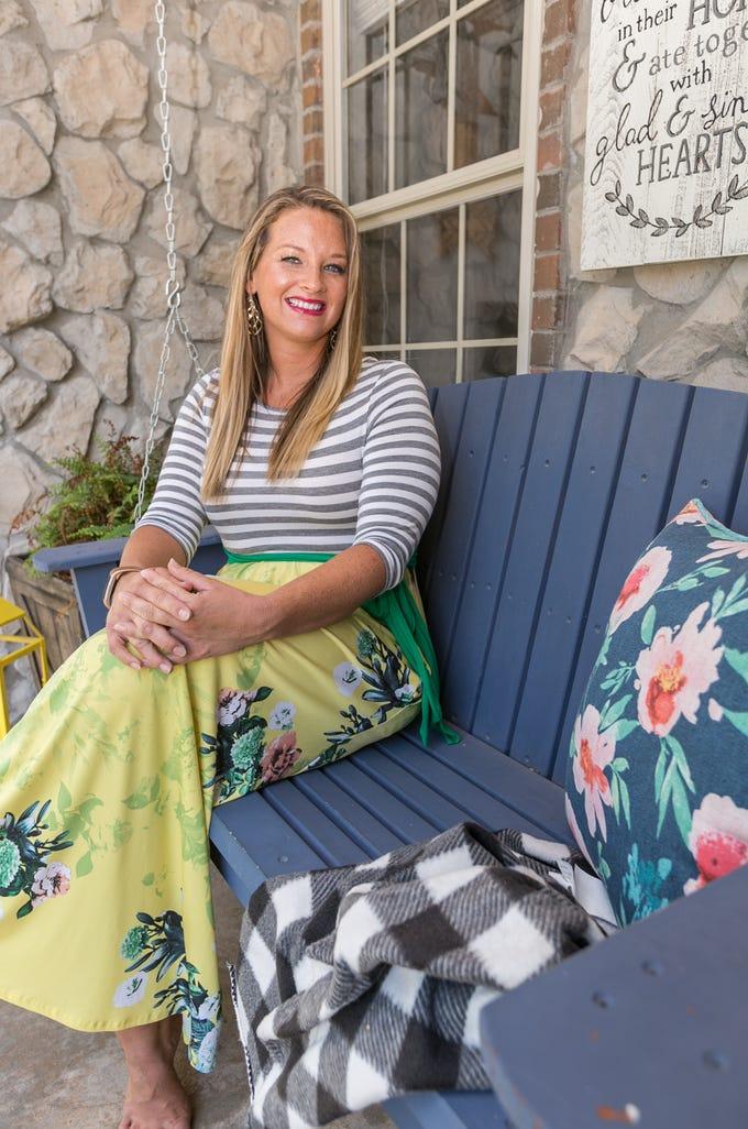 Amanda Driscoll at her Nixa home on July 27th, 2018.
