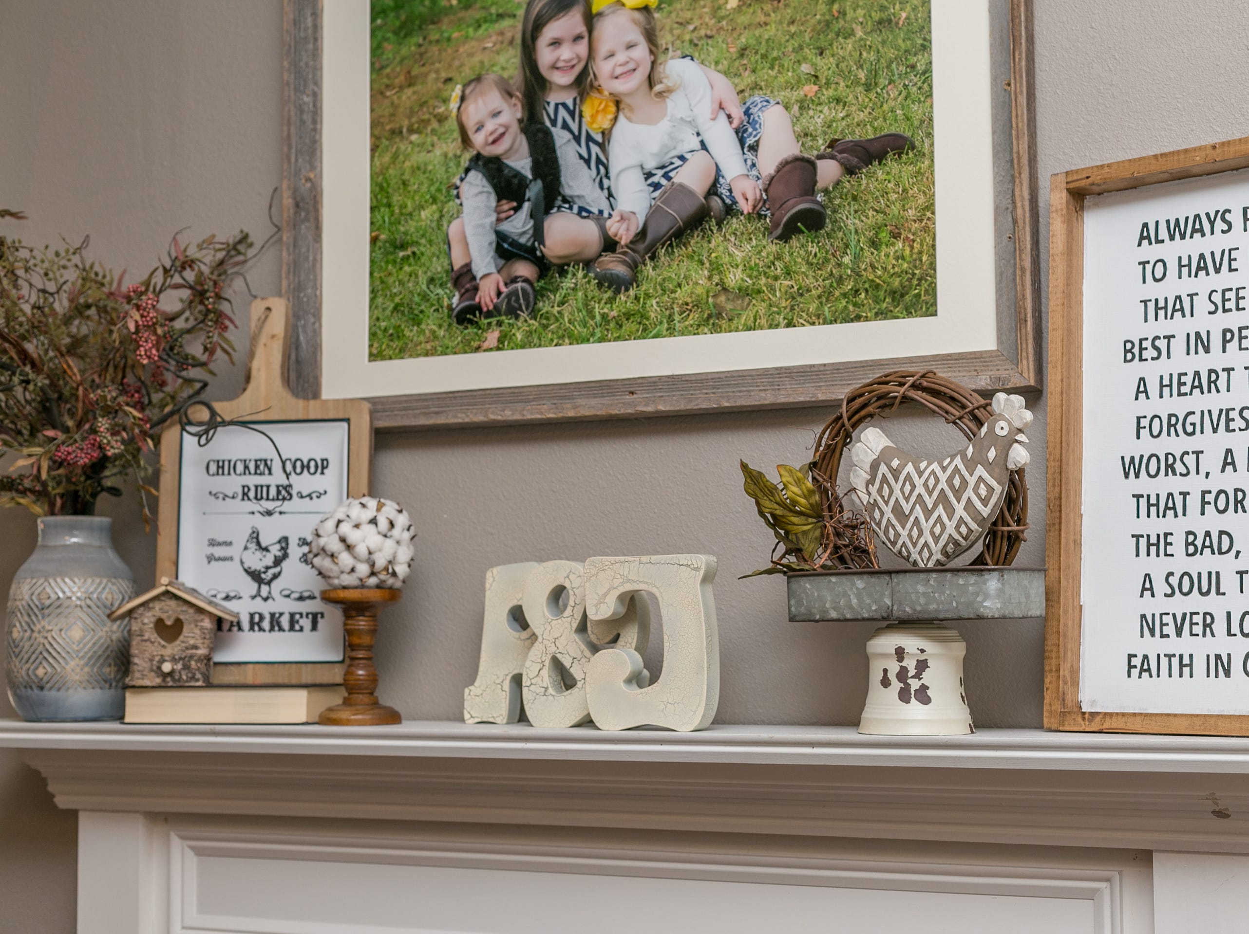 Scenes from the home of Amanda and Joe Driscoll