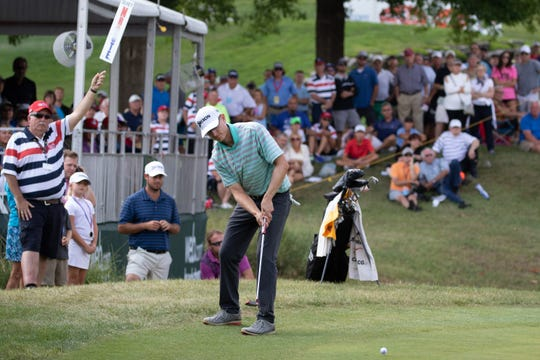 The Web.com Price Cutter Charity Championship presented by Dr Pepper took place this weekend at Highland Springs Country Club. Martin Trainer won the tournament with a score of -25 on Sunday, July 29, 2018. Jason Connel / for the News-Leader.