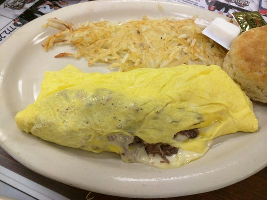 Pelican Diner Philly Omelet