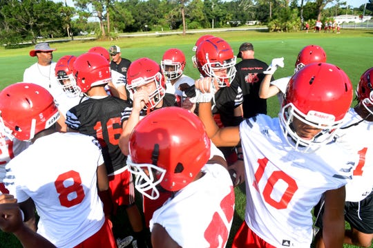 The Vero Beach High School Fighting Indians took to the field Monday, July 31, 2018 for the first day of football practice for the 2018 season. Vero Beach has gone undefeated in the last four regular seasons and look to capitalize on that success heading into the new season. Vero Beach opens their season at Viera High School on Aug. 17 in a Kickoff Classic.
