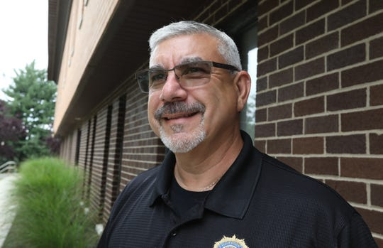 Haverstraw Police Detective Terry Collazo at the detective bureau in Thiells July 30, 2018. He retired at the end of June.