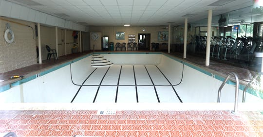 The closed Diplomat Health and Swim Club in Piermont July 30, 2018.
