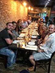 """The """"Dinner with Jeanne"""" crew at Donjito in Mamaroneck. Photographed July 26, 2018"""
