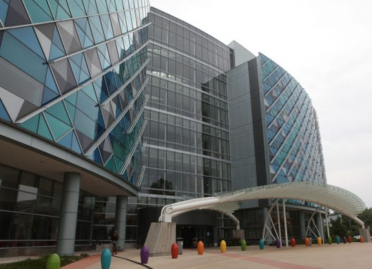 The Atrium at the Nemours/Alfred I. duPont Hospital for Children.