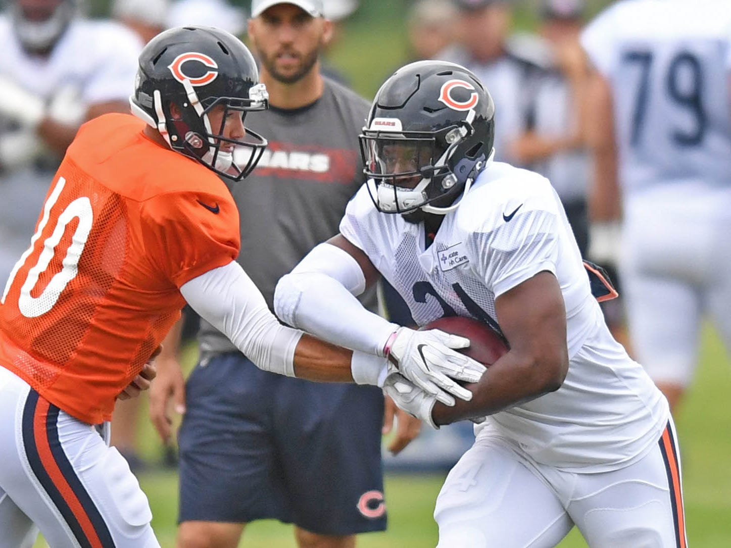 22. Bears (25): Jordan Howard doesn't move needle but may be main factor in Mitch Trubisky's arc. Only Elliott, Bell have more rushing yards since 2016.
