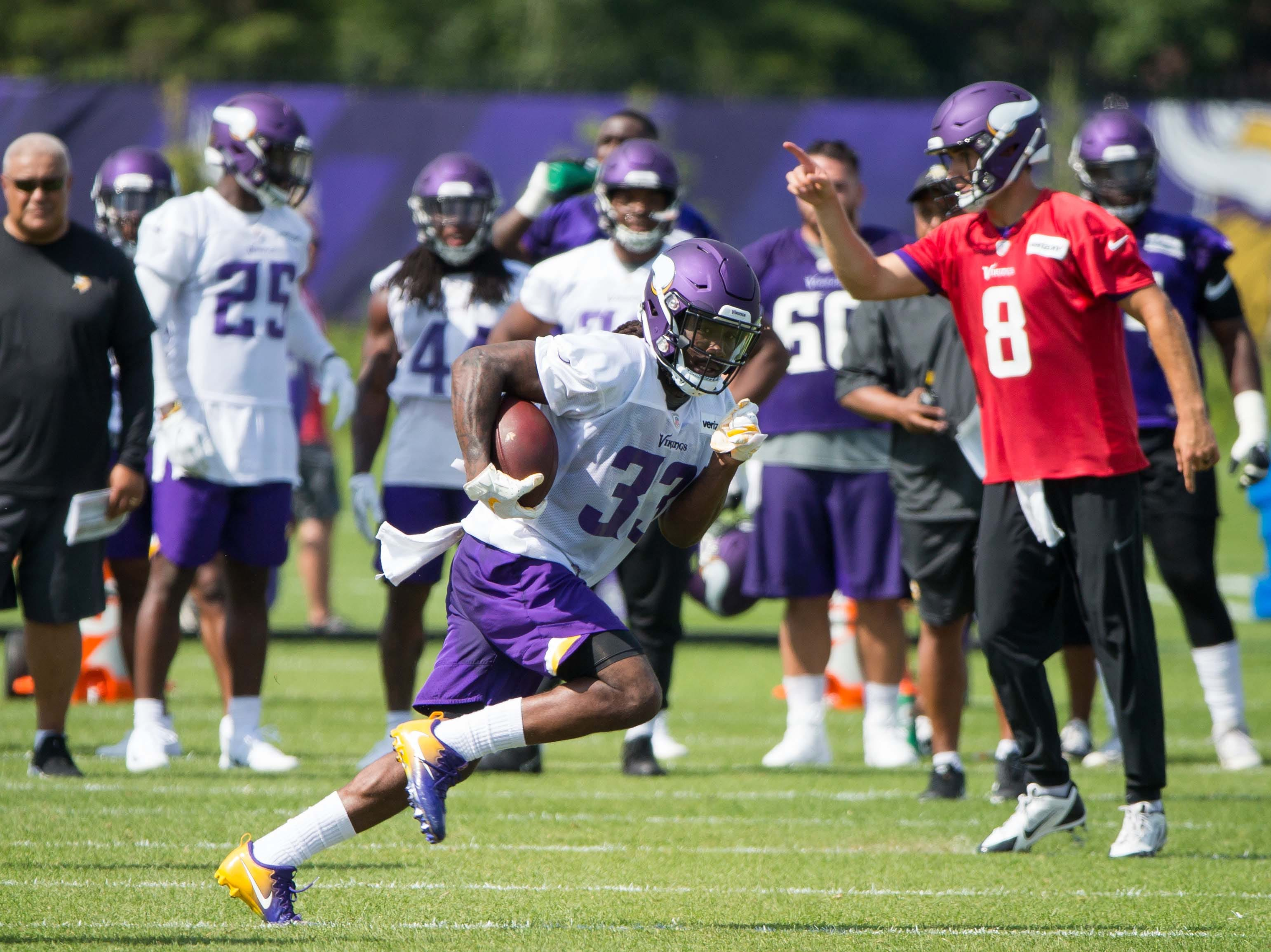 4. Vikings (4): Don't be surprised if Dalvin Cook's return actually has more profound effect on 11th-ranked offense than Kirk Cousins' arrival.