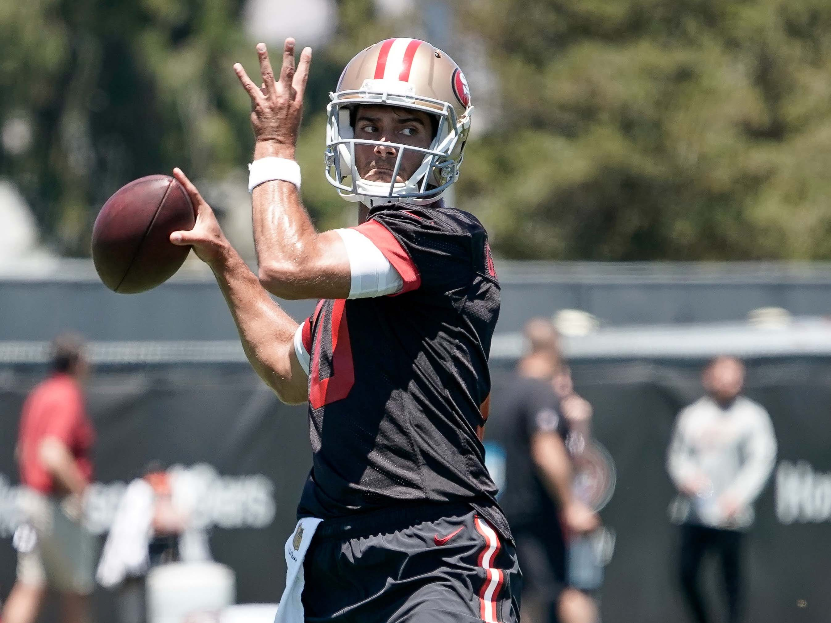 20. 49ers (16): Garoppolo buzz is great. But preseason expectations should be tempered (for now) by defense that's ranked 24th or worse last three years.