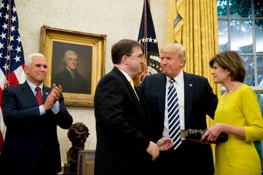Ap Trump Veterans Affairs A Usa Dc