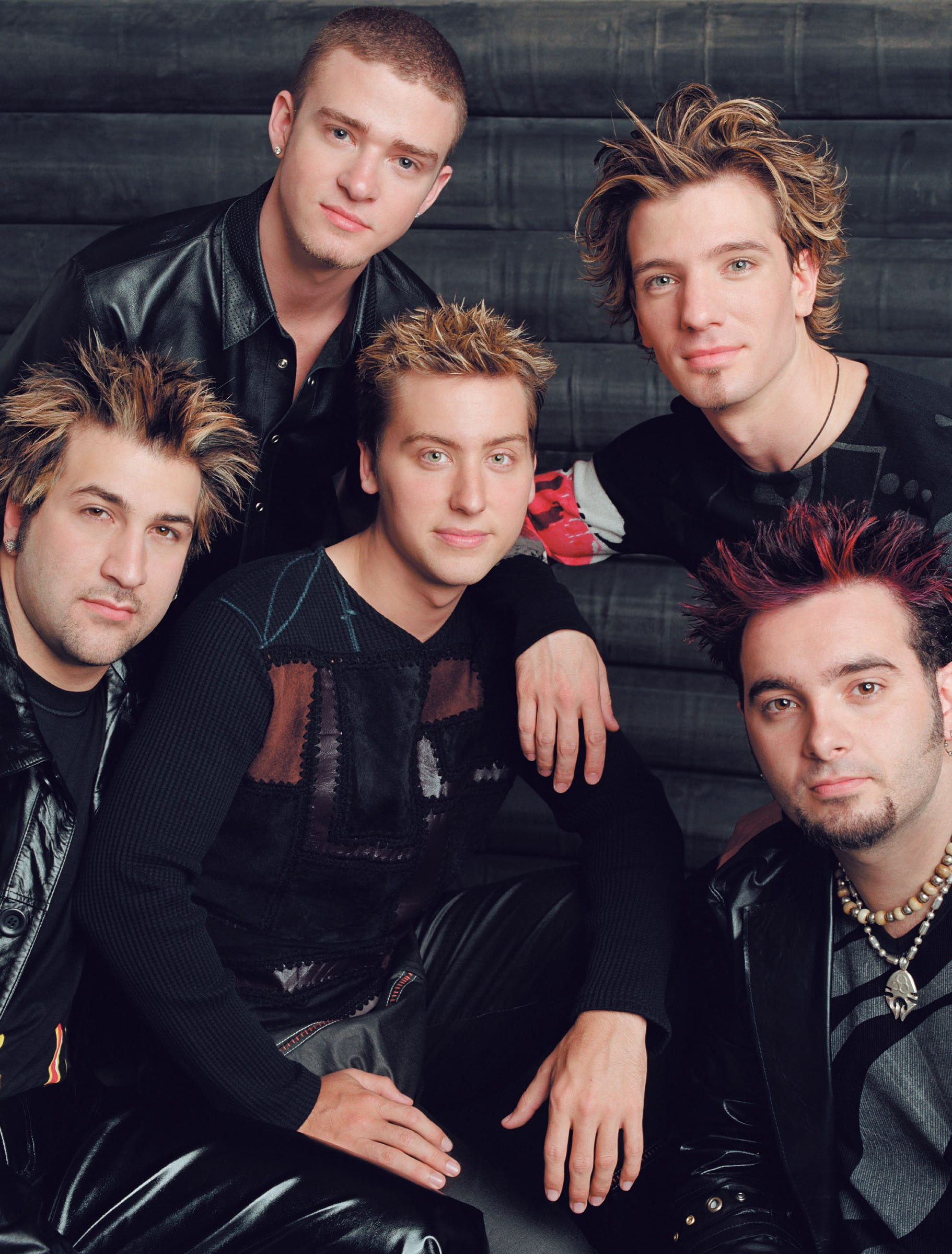 NSYNC from left, Joey Fatone, Justin Timberlake, Lance Bass, JC Chasez and Chris Kirkpatrick in 2001.