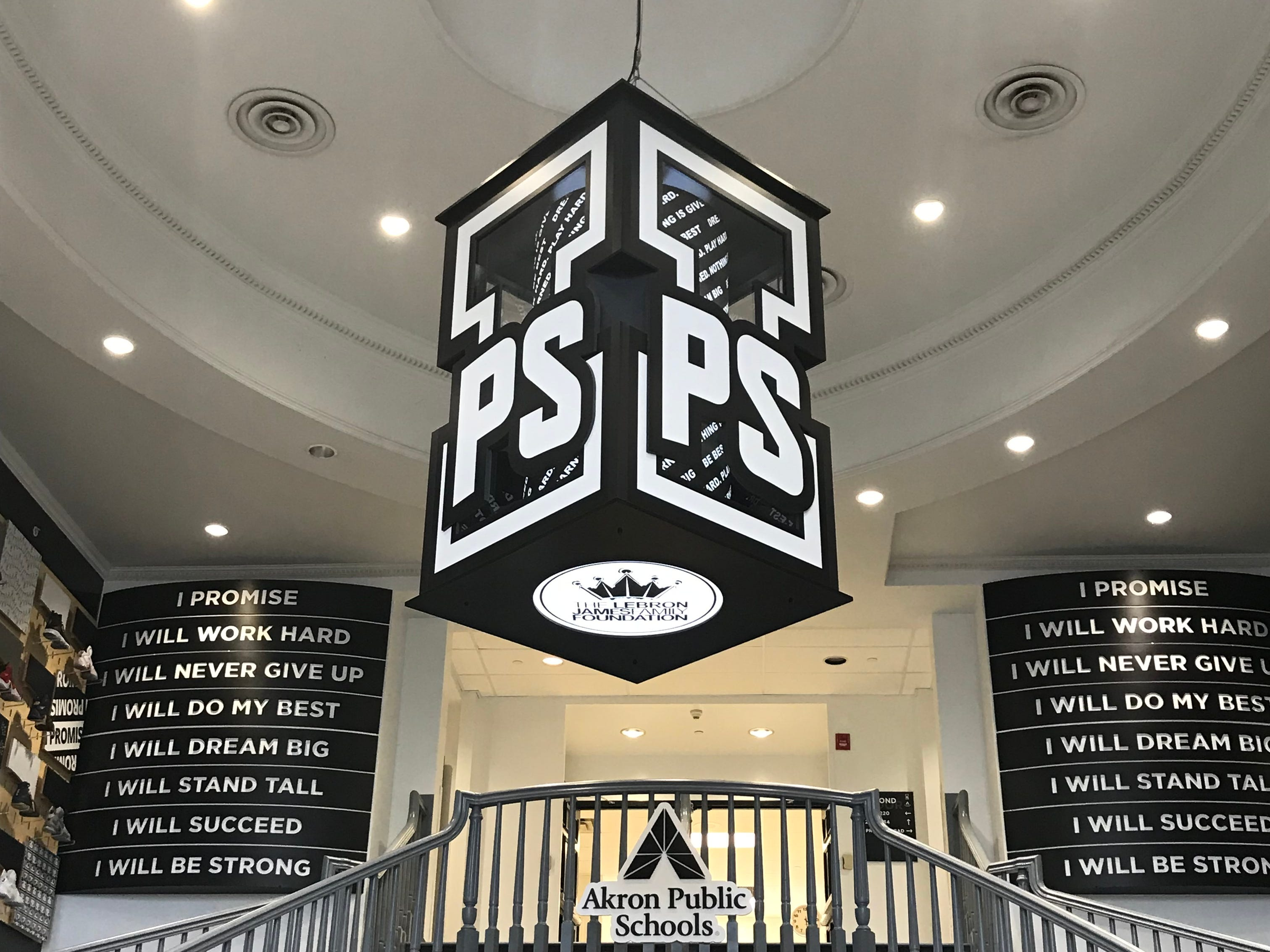 The LeBron James Family Foundation partnered with Akron Public Schools to launch the I Promise School for at-risk elementary students in the superstar's hometown in northeast Ohio.