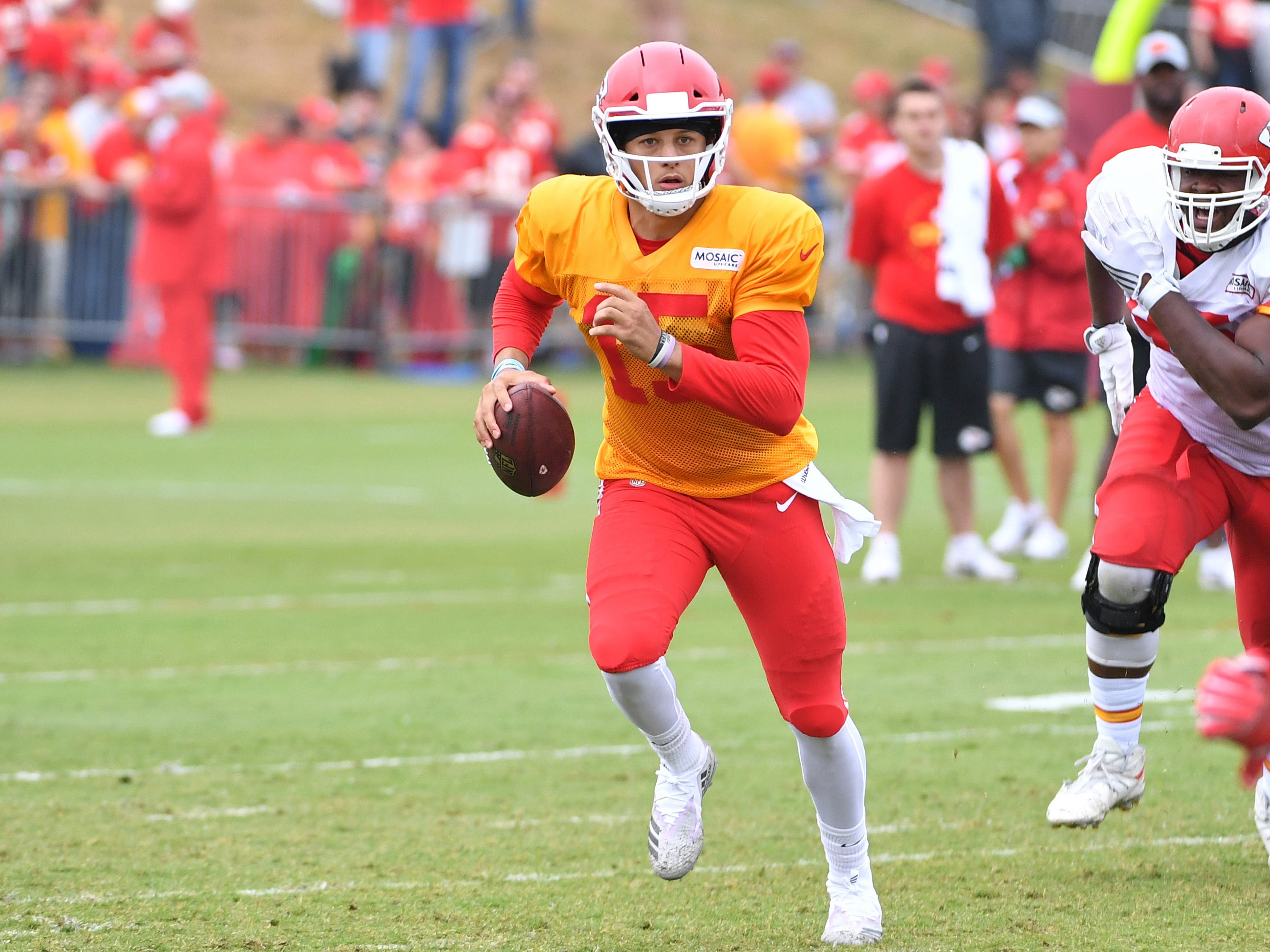 19. Chiefs (15): Patrick Mahomes couldn't ask for a better arsenal around him. But will suspect defense put a young gunslinger into holes he can't climb from?