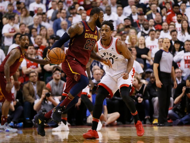 LeBron James and DeMar DeRozan were two of the biggest names to change teams this offseason.