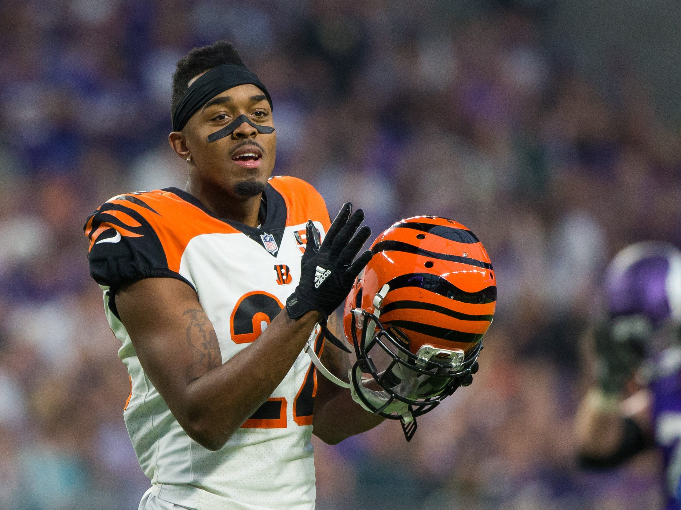 25. Bengals (23): CB William Jackson III is one of best young players you might not have heard of. But he can't do much if Cincy fails again to stop run.