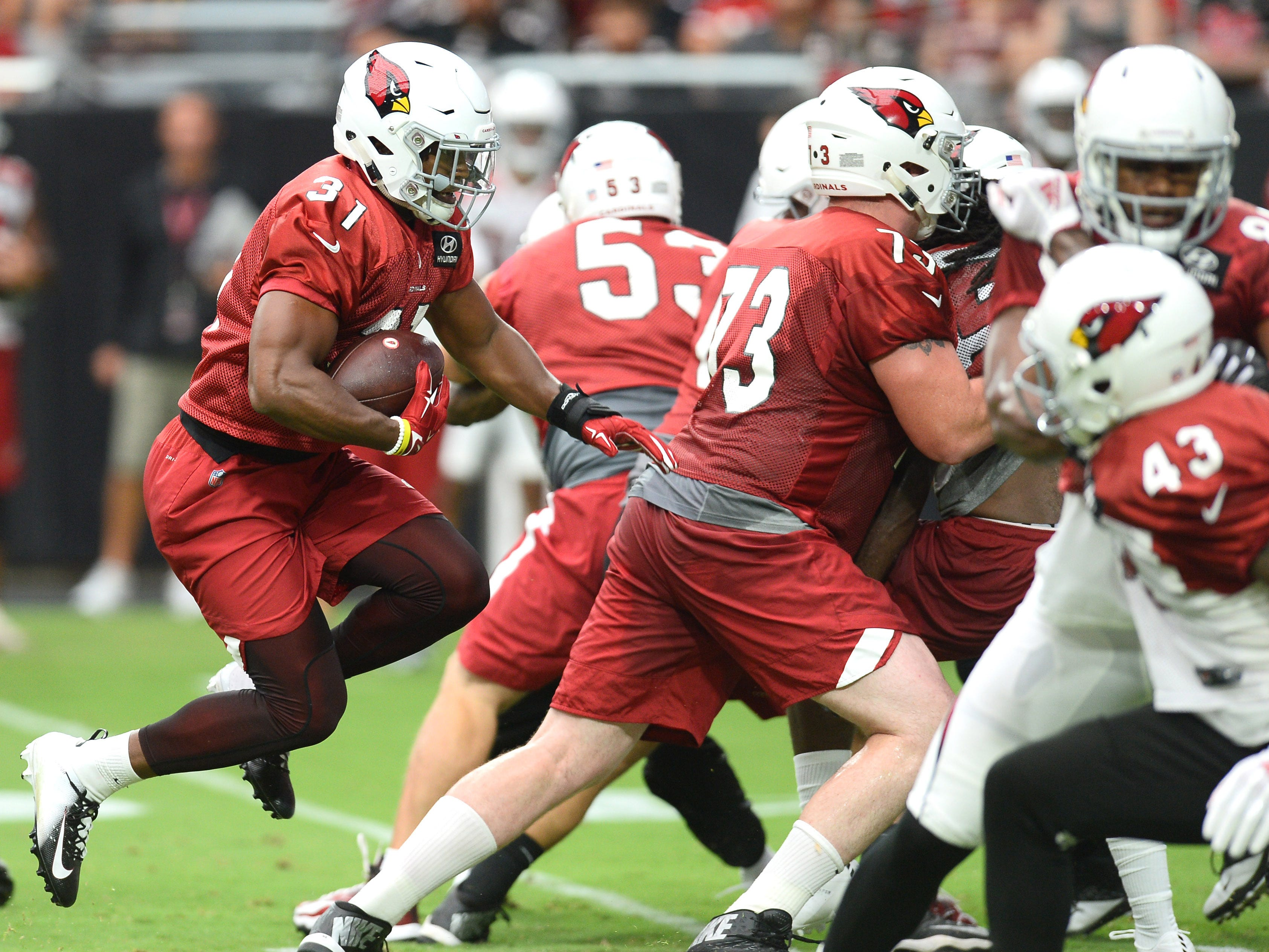 21. Cardinals (18): Why doesn't team that finished 8-8 in 2017 minus David Johnson or strong QB play for most of year get more respect? Keep an eye on 'em.