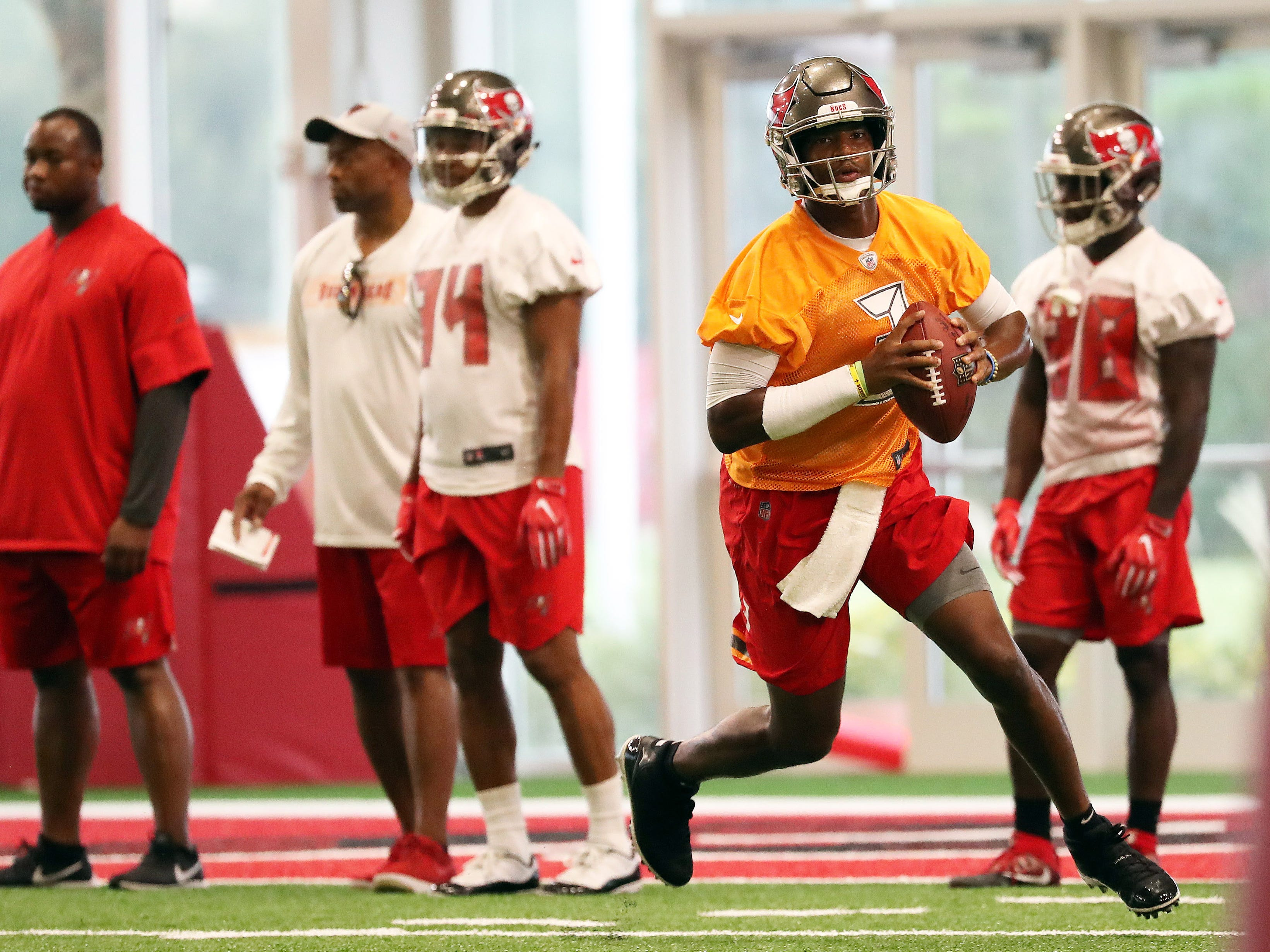 29. Buccaneers (24): Already unmooring from Jameis Winston? Might be best as former No. 1 pick takes third-team snaps and gives unsatisfying answers.