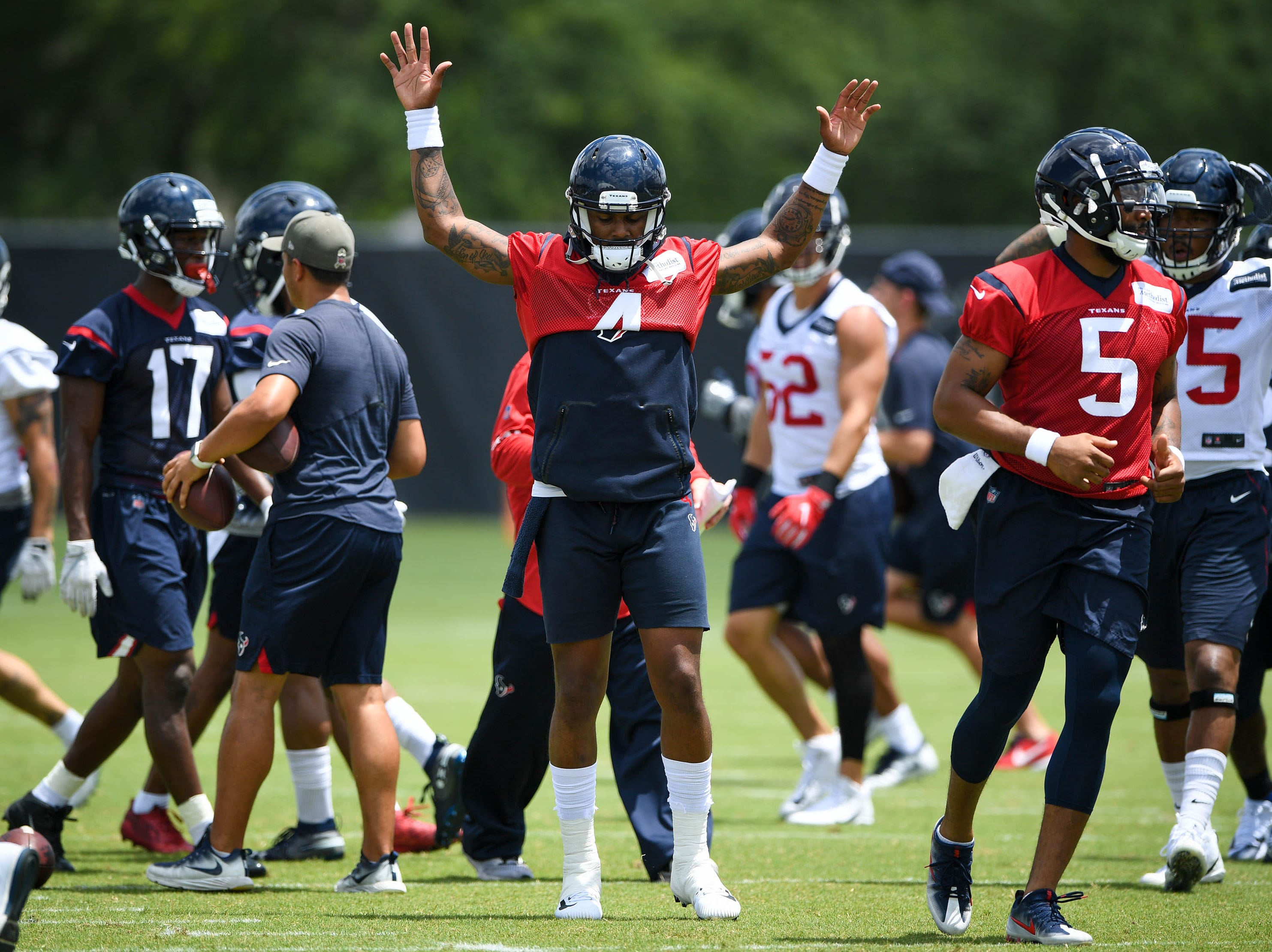11. Texans (12): Offensive line is a question but perhaps only one of major significance ... assuming Watt, Watson, Mercilus et al. bounce back as expected.