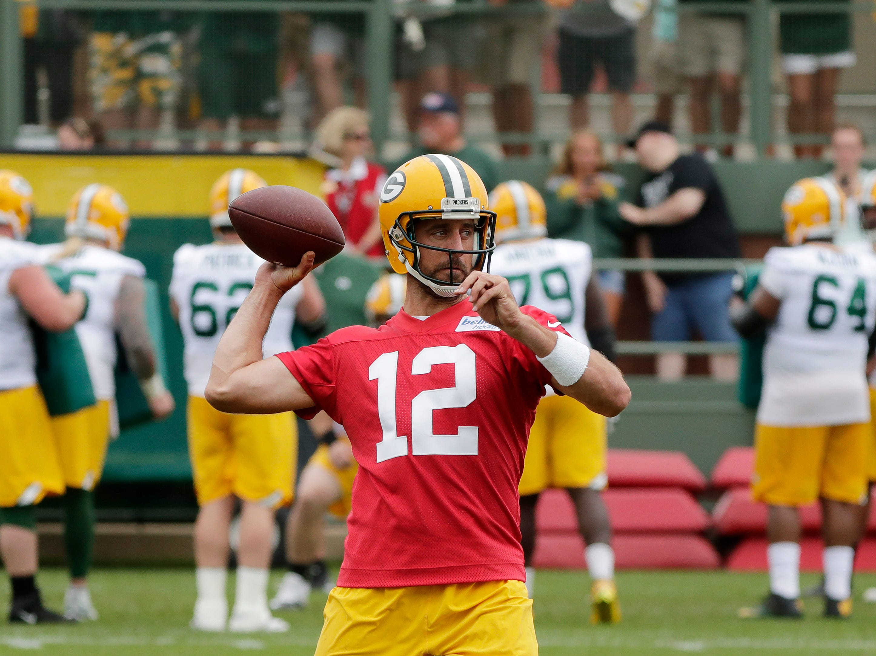 7. Packers (10): Aaron Rodgers' return alone should vault them back to postseason. But success of new defensive philosophy could determine Pack's course.