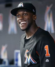 The Mariners acquired outfielder Cameron Maybin from the Miami Marlins on Tuesday in exchange for a low-level minor league prospect.
