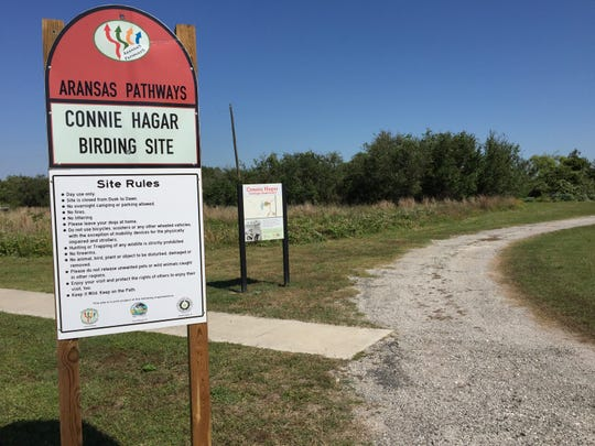 The Connie Hagar Birding Site in Rockport received $2,750 from the Great Texas Birding Classic to enhance its storm-damaged Aransas Pathways site.
