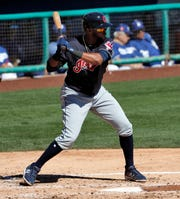 The Tigers received Indians shortstop prospect Willi Castro in exchange for outfielder Leonys Martin and minor league right-hander Kyle Dowdy in a deal Tuesday.