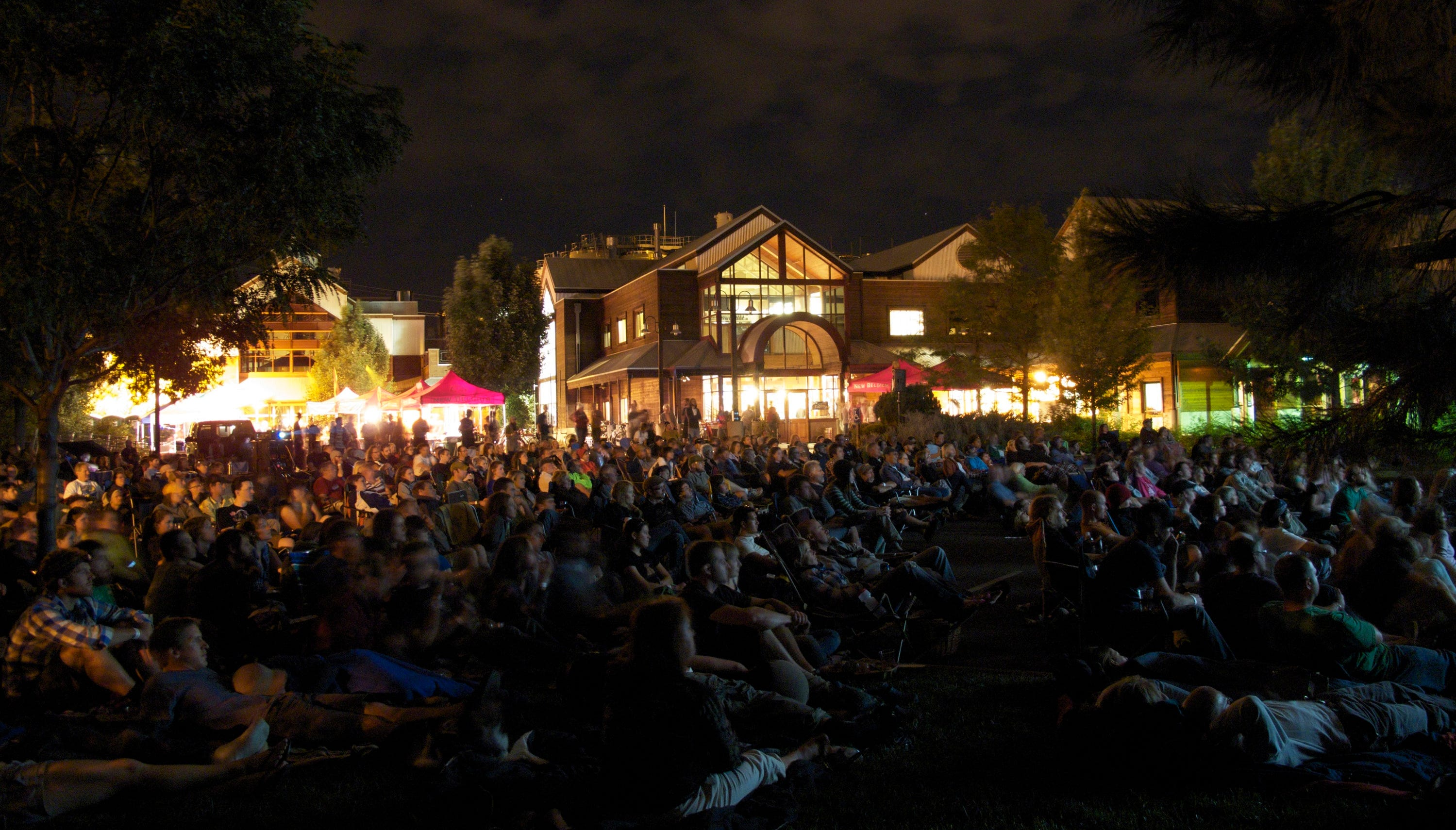 Here are the bike-in movies New Belgium is showing this summer