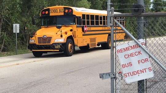 A new app for parents or guardians of Lee County school students will let them track their child's bus to and from school.