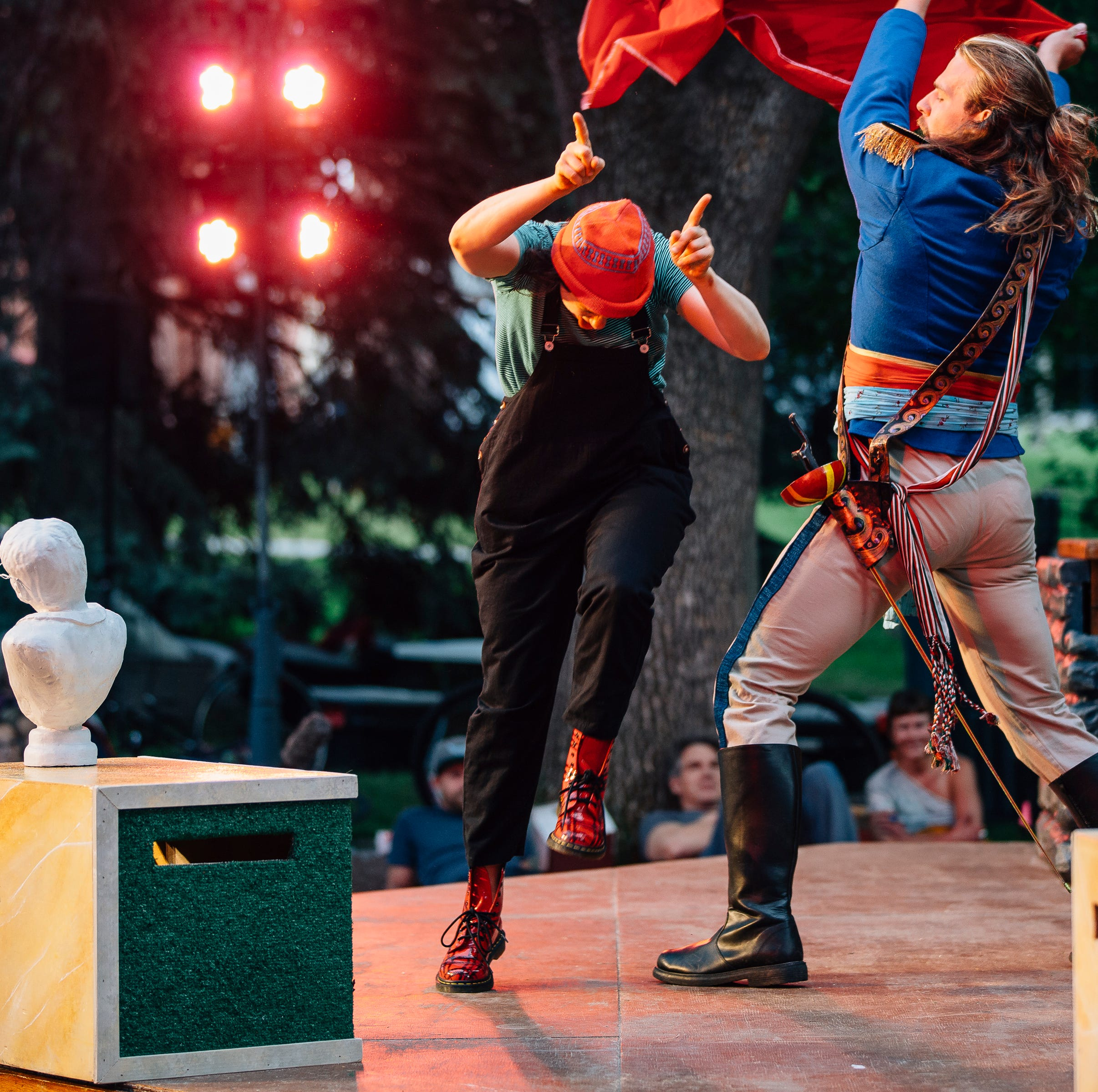 Shakespeare, blues music, law enforcement grudge match among weekend events