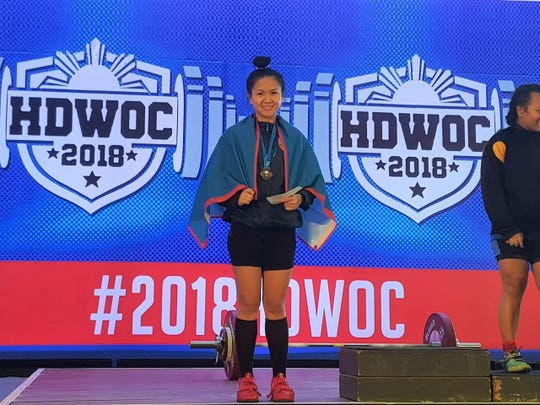 Nicola Lagatao set personal best records at the 2018 Hidilyn Diaz Weightlifting Open Championships, held over the weekend in the Philippines.