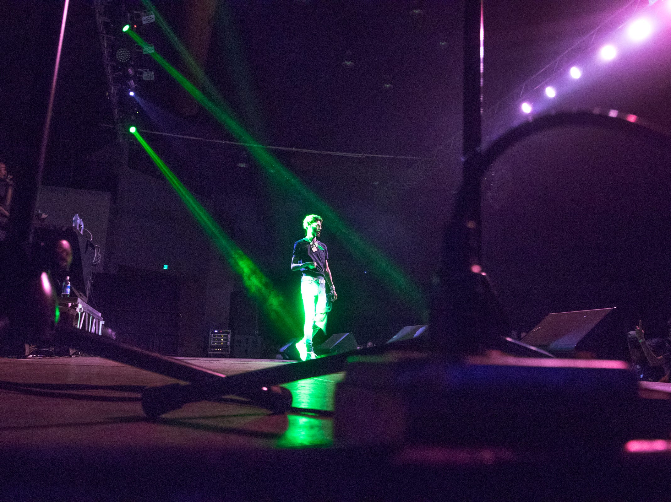 PnB Rock performed to hundreds of fans at University of Guam Calvo Fieldhouse on July 29.