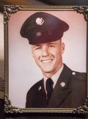 An Army photo of Rick Sherwood, Wheatfield, Tuesday, July 17, 2018. Sherwood did not know the person called D.B. Cooper, but they served in the same Army unit in Vietnam, and Sherwood used code breaking tricks he learned during his time there to identify a San Diego man he says is actually Cooper.