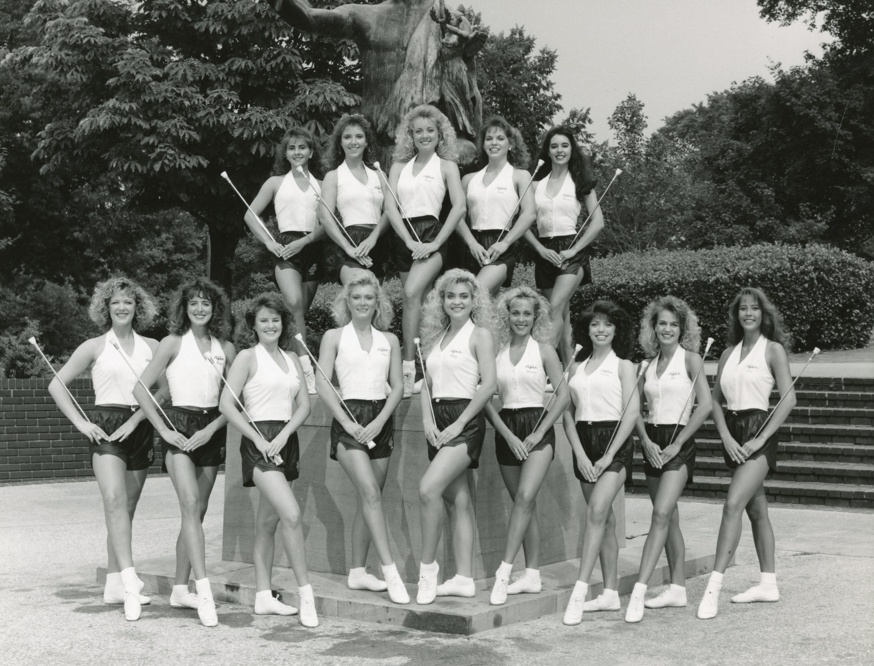 The 1994/1995 University of Tennessee majorettes.
