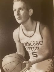 Richard Pickell during his time on the basketball team at Tennessee Tech.