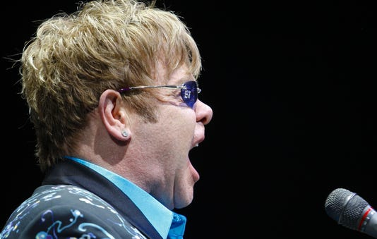 Elton John In Louisville
